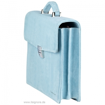 Handmacher light blue leather bag