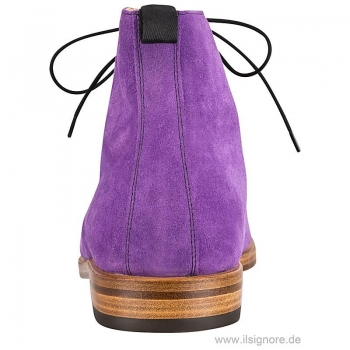 Handmacher boots in purple suede