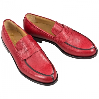 red loafers mens