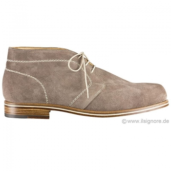 Handmacher model 41 suede taupe