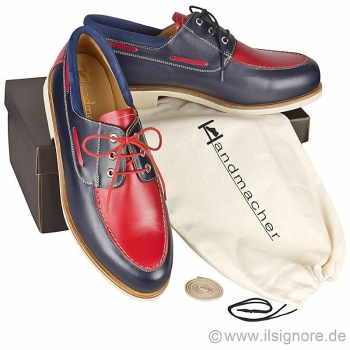 Handmacher model 18 calfskin two tone