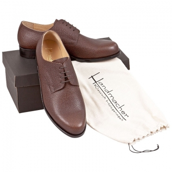 Handmacher model 20 scotch grain mocha brown