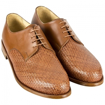 Handmacher model 22 in cognac calfskin