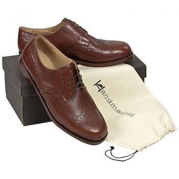 Handmacher model 32 calfskin nut brown