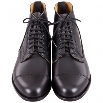 Handmacher model 57 calfskin black