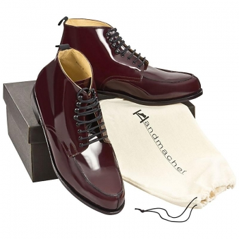 Handmacher model 77 calfskin oxblood