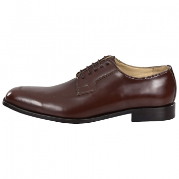 brown derby shoes,leather derby shoes by Handmacher
