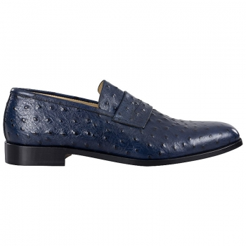 Handmacher model Trend 86 calfskin blue