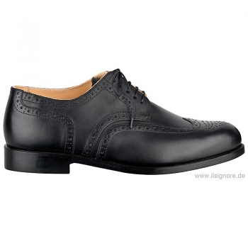 Handmacher brogues box calf black