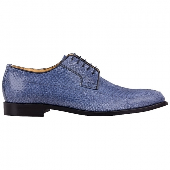 Handmacher model 80 blue salmon leather