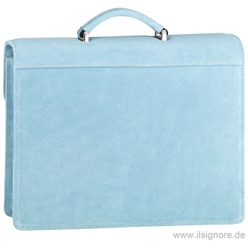 Handmacher bag light blue