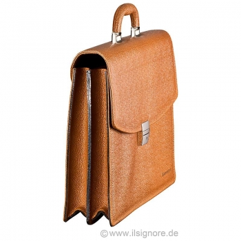 Handmacher scotch tan laether bag