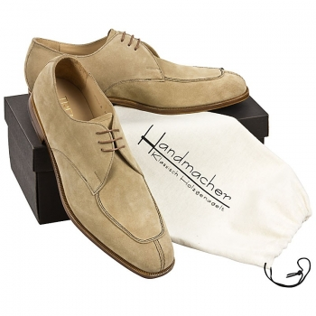 Handmacher model 85 brown suede