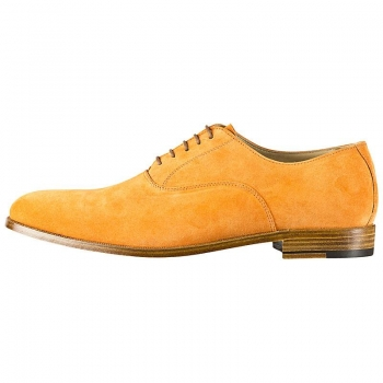 Handmacher suede oxford shoes mens
