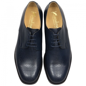 plain derby shoe