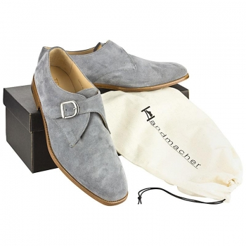 Handmacher model 81 anthracite suede