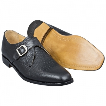 Handmacher monk strap shoes