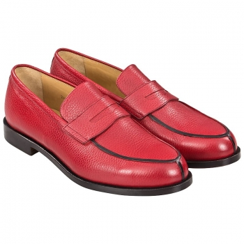 red loafers men