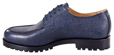 Handmacher model 28 scotch grain blue