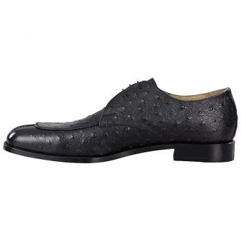 Handmacher Norwegian shoe in ostrich leather look