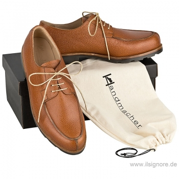 Norwegian shoes Scotchgrain cognac