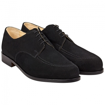 suede derby shoes by Handmacher