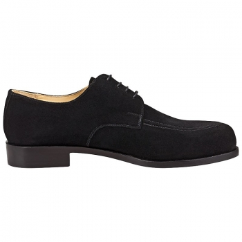 Handmacher model 23 black suede