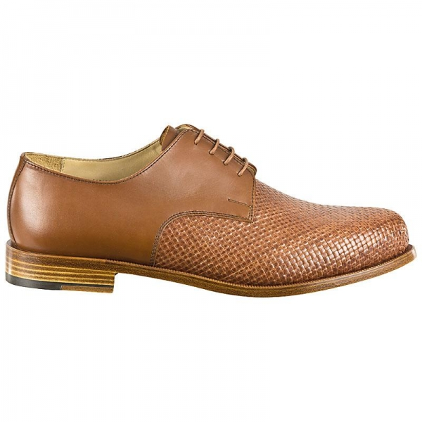 woven leather shoes Handmacher model 22