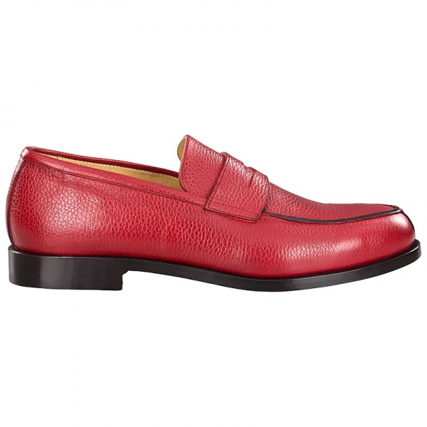 red loafers for men