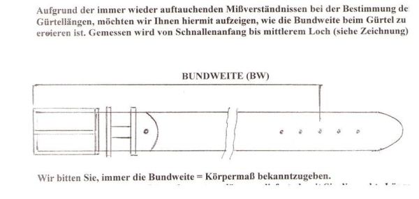 Handmacher belt size