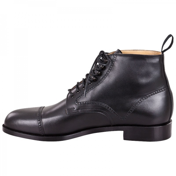 Handmacher model 57 black calfskin