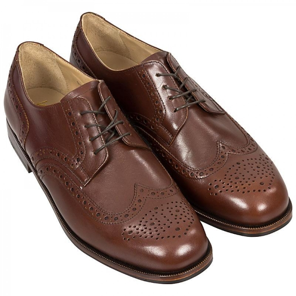 Handmacher Full Brogues derby shoe