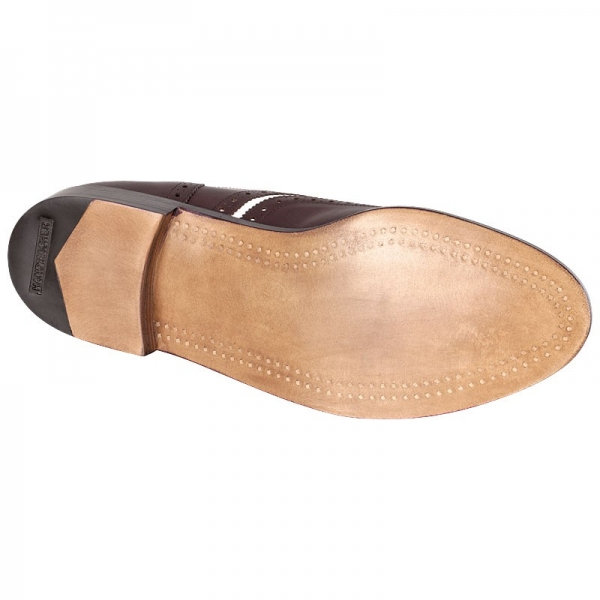 wood nailed outsole Handmacher model 14