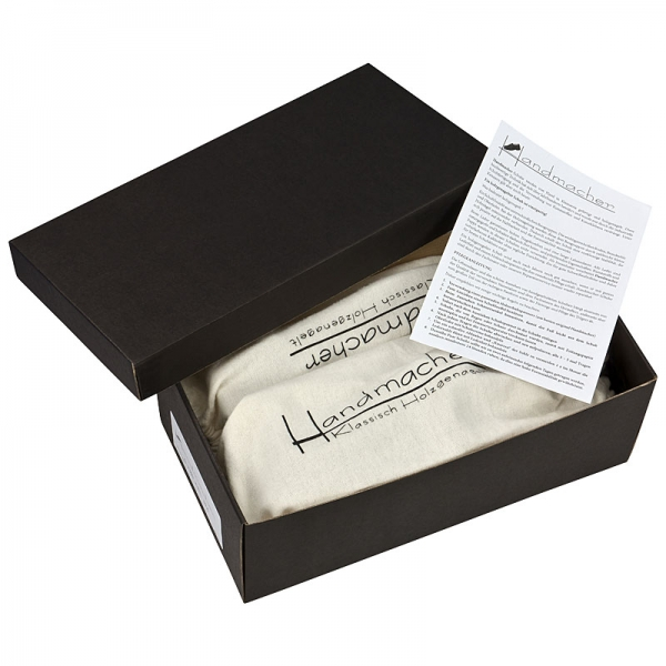 Handmacher model 26 black calfskin box
