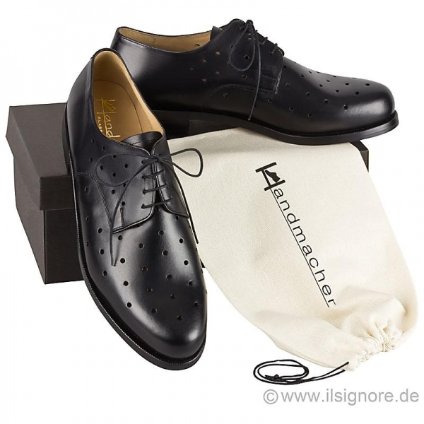 Handmacher model 26 black calfskin