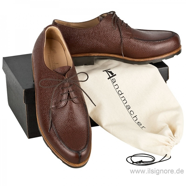 Handmacher model 28 scotchgrain brown