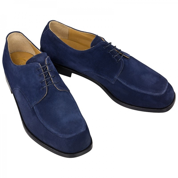 Handmacher model 34 suede blue