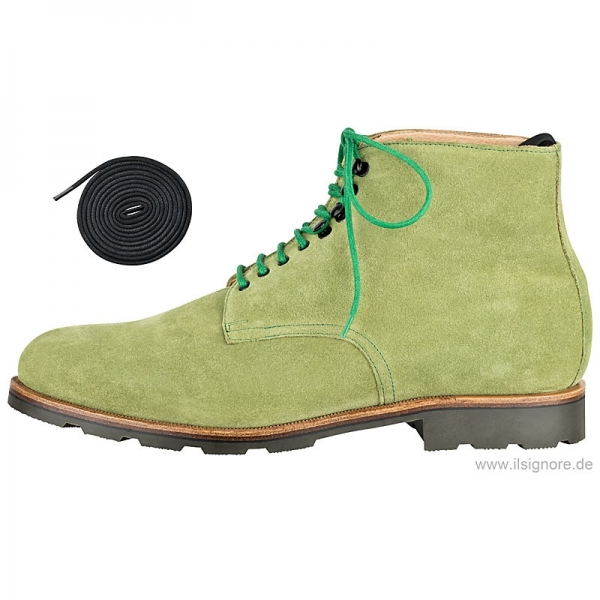 Handmacher model 58 suede forest green