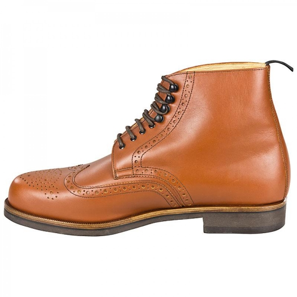 Handmacher model 76 calfskin cognac
