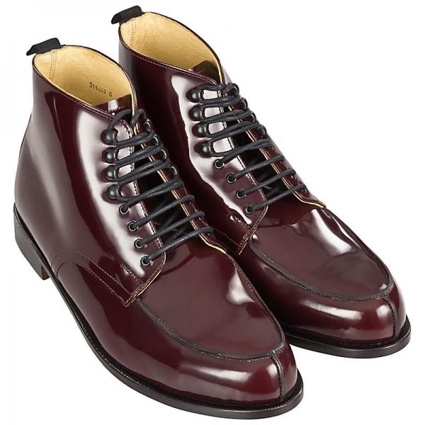 Handmacher model 77 oxblood calfskin