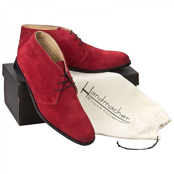 Handmacher model Trend 98 red suede