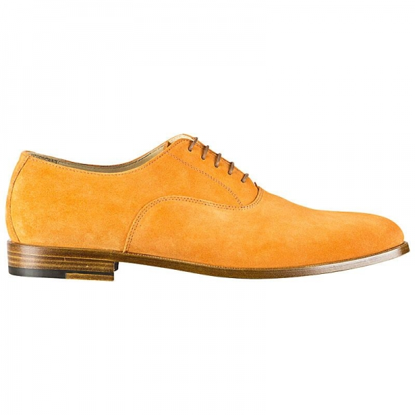 Handmacher oxford suede shoes