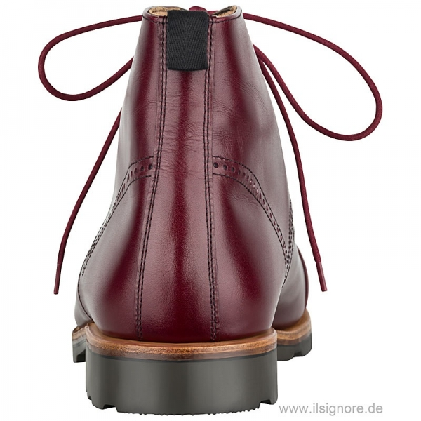 Handmacher boots boxcalf red
