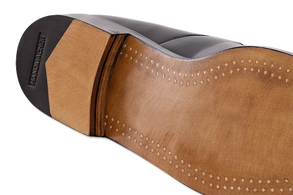 Handmacher wood nailed outsole