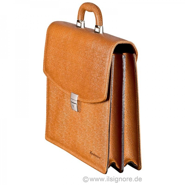 Handmacher leather bag scotch tan