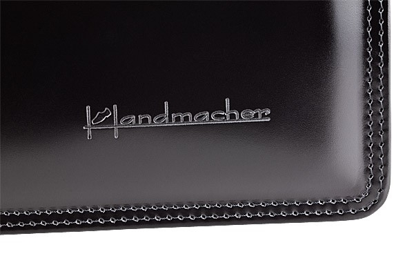 Handmacher bag black high gloss