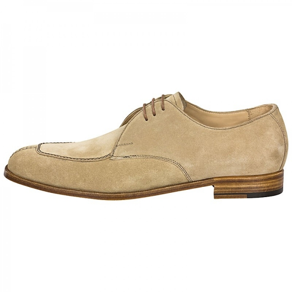 Handmacher Norwegian shoes brown suede