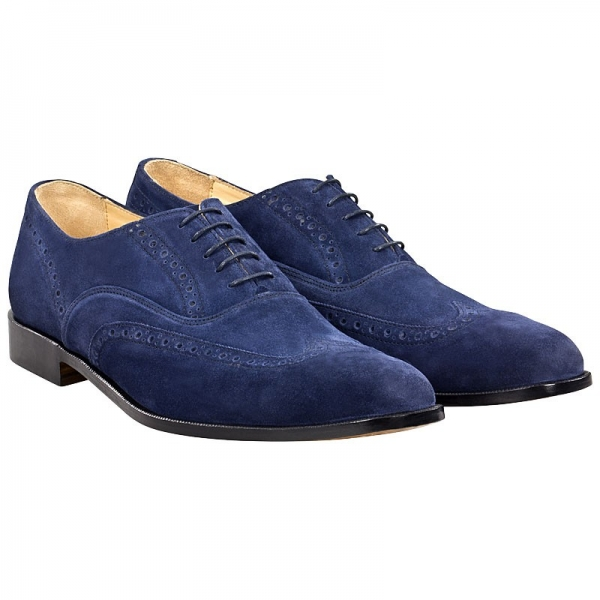Handmacher full brogue shoes