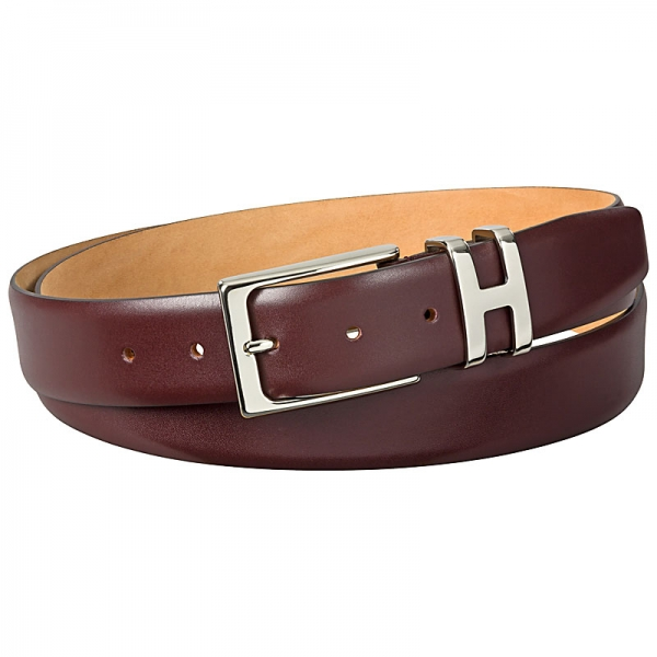 red leather belts