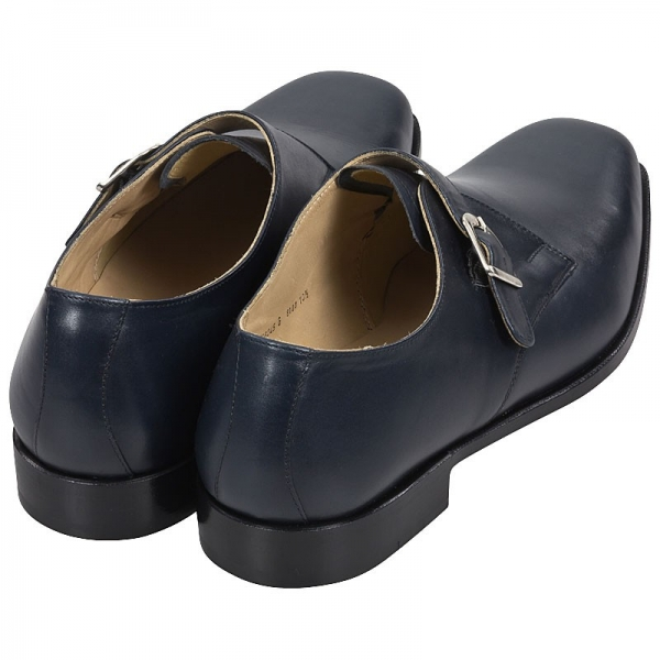 Handmacher monk strap shoe